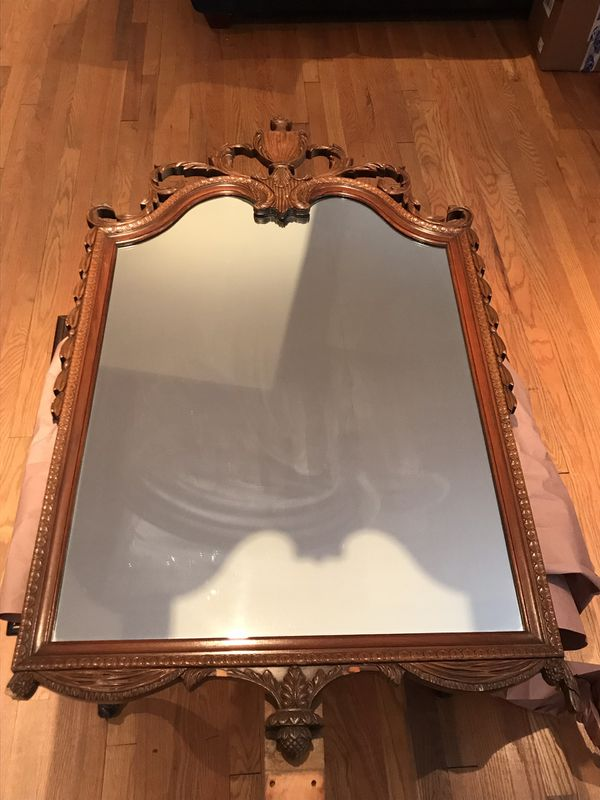Vintage Mirror with wooden frame