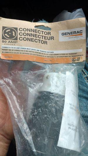 50amp generac plug for Sale in Scranton, PA