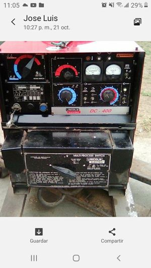 Lincoln electric DC-400 welder for Sale in Lynwood, CA