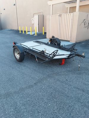 TRAILER KENDON STRAND UP BIG BIKE TRANSPORT FOR HAULING 2. MOTORCYCLES 1 AXLE. for Sale in Los Angeles, CA