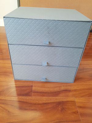 3 drawer lightweight sturdy board storage cabinet for Sale in Los Angeles, CA