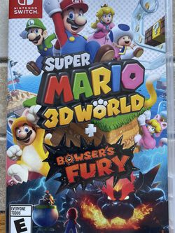 Super Mario World & Bowsers fury switch Game for Sale in Downers Grove,  IL