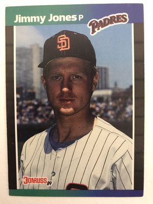 Baseball card jimmy jones for Sale in Nashville, TN
