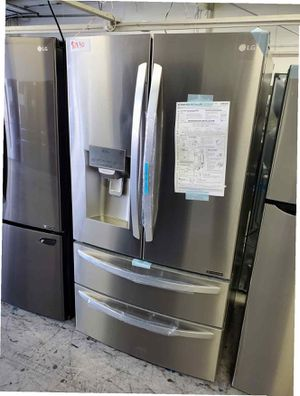 LG Fridge 27 cu. ft. French Door Refrigerator Same day or next day delivery available for Sale in Long Beach, CA