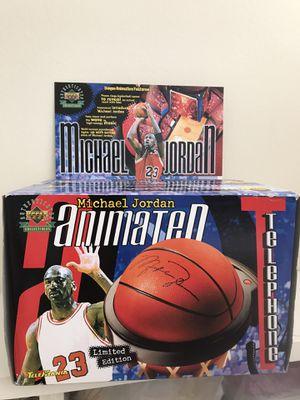 1999 Michael Jordan Telemania Basketball Animated Telephone for Sale in Torrance, CA