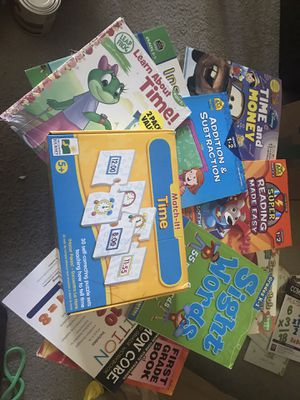 Educational Learning books and games for Sale in Hillsboro, OR