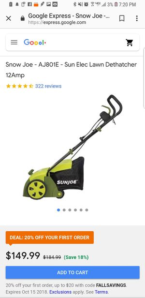 Electric lawn mower BRAND NEW for Sale in Boston, MA