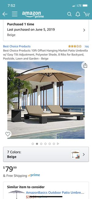 Brand new patio umbrella for Sale in Amherst, NY
