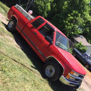 "1996 Chevy Silverado "" 124k miles no title runs & drives "" Tool boxes already sold selling as is for Sale in Dallas, TX"