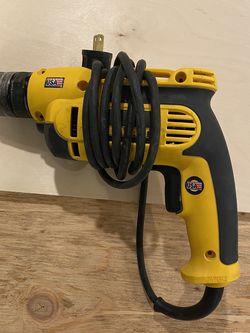 Dewalt power drill heavy duty corded vsr for Sale in San Francisco,  CA