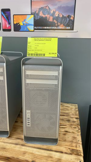 Apple Mac pro 2012-5.1 12 Core -3.33GHz 1TB SSD 64GB RAM 8GB GPU for Sale in Los Angeles, CA