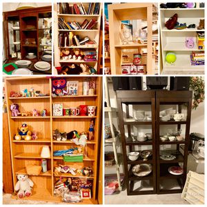 Shelves bookshelves storage shelving for Sale in Kensington, MD