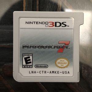 Nintendo 3ds ~ Mario Kart 7 for Sale in Pleasant Hill, CA