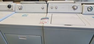 White Whirlpool Washer and Dryer for Sale in Littleton, CO