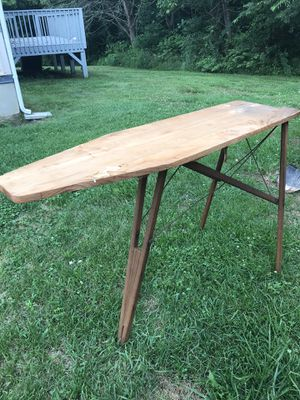 Antique wooden ironing board by Madison Mill & Lumber Co for Sale in Mars Hill, NC