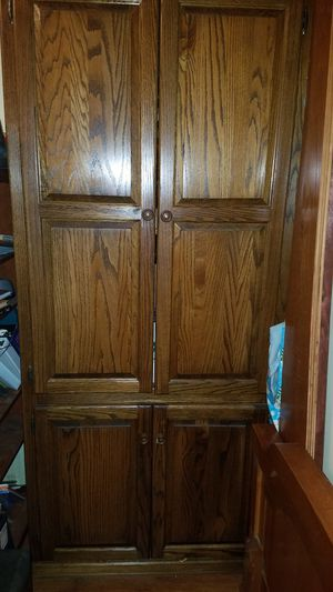 Entertainment center, storage shelves for Sale in Clemmons, NC