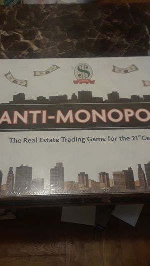 Anti monopoly board game for Sale in Brooklyn, NY