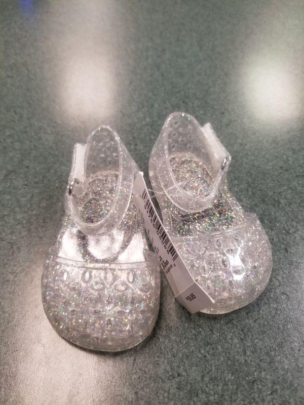 Children's Place Clear Jellie Sandals