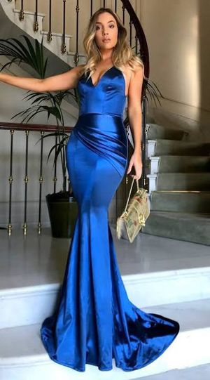 Royal blue prom dress for Sale in Abingdon, MD