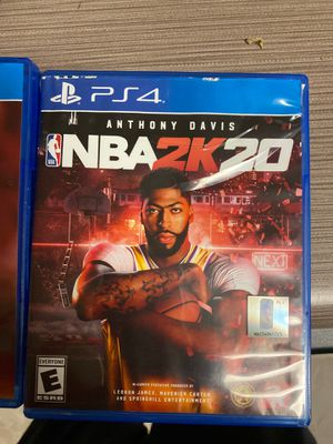 NBA 2k20 and Madden 20 for Sale in Newport News, VA
