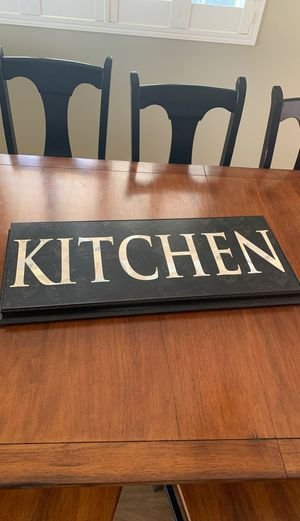 Home Decor Kitchen Wall Sign 13 x 32 inches for Sale in Salt Lake City, UT