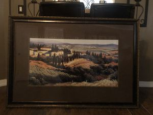 """Large frame wall art 37"""" by 52"""" for Sale in Clermont, FL"""