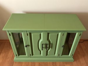 Green Buffet Cabinet for Sale in INVER GROVE, MN