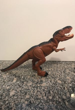 Dragon-i Toy Battery Operated T-Rex Dinosaur Roars, Walks, light up eyes, moving head for Sale for sale  Denver, CO