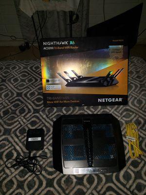 Netgear Nighthawk AC3200 Tri- Band WiFi Router for Sale in Phoenix, AZ