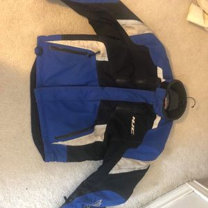 HJC Extreme Motorcycle Jacket - Yamaha Blue - Size L for Sale in Irving, TX