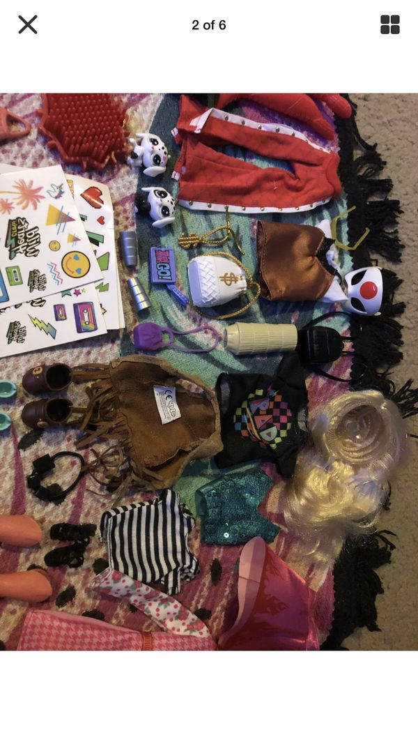 Lot of doll accessories