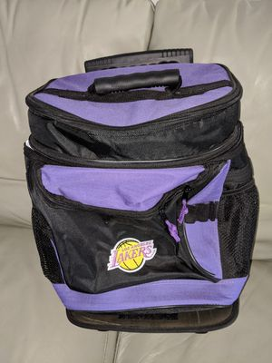 Lakers Rolling Cooler Bag Backpack for Sale in City of Industry, CA