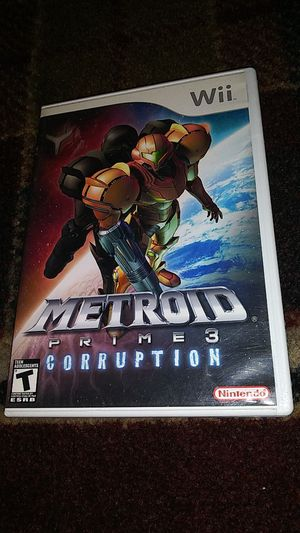 METROID PRIME 3 - CORRUPTION - (USED) Nintendo Wii & Wii U video game for Sale in Stockton, CA