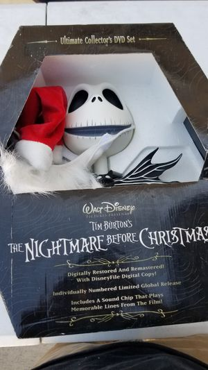 Nightmare before christmas ultimate DVD collectors set for Sale in Los Angeles, CA