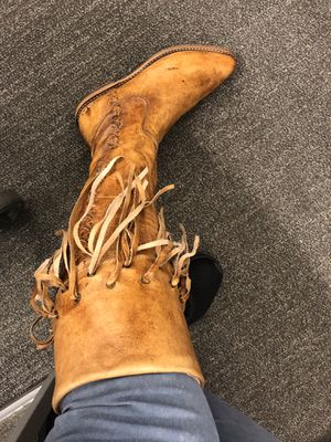 Size 9 BedStu fringe boots for Sale in Chandler, AZ