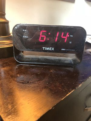 Alarm clock for Sale in Manassas, VA
