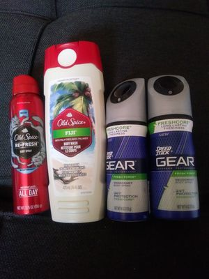 Mens Body Spray and Wash for Sale in Verona, PA