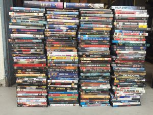 Over 180 dvds some New never Opened! for Sale in Redondo Beach, CA