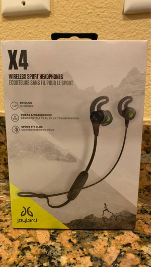Jaybird X4 for Sale in Tampa, FL