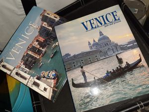 2-Hardback Venice Italy Books for Sale in St. Louis, MO