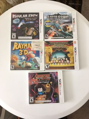 5 3ds games for Sale in Annandale, VA