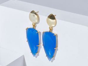 Amber Earrings in Chalcedony for Sale in San Francisco, CA