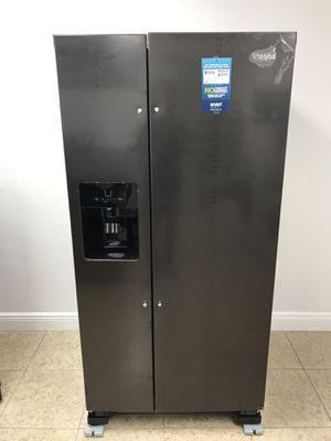 Whirlpool refrigerator 21 cu. ft. Take home for only $39 down EZ financing for Sale in Miami, FL