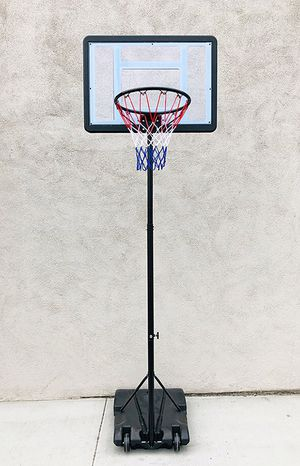 """Brand new $65 Junior Kids Sports Basketball Hoop 31x23"""" Backboard, Adjustable Rim Height 5' to 7' for Sale in Pico Rivera, CA"""