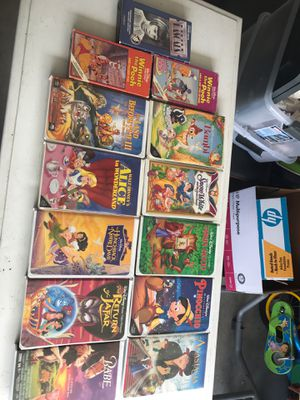 Disney VHS tapes for Sale in Bothell, WA