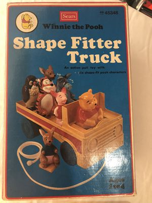 Vintage Winnie the Pooh Shape Fitter Truck for Sale in Huntington Beach, CA