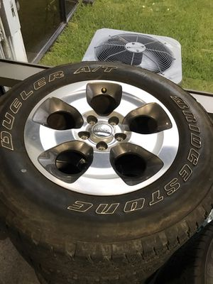 Jeep wheels and tires for Sale in Pompano Beach, FL