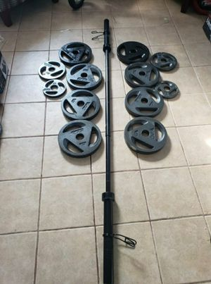 Olympic Weight Set for Sale in Wolcott, CT