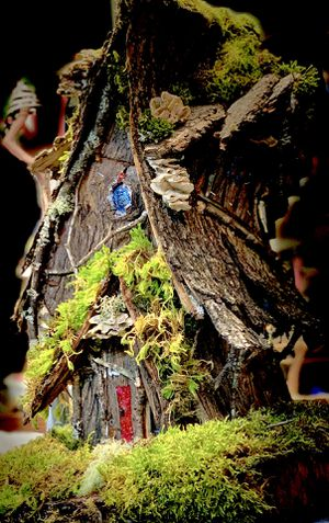 Hand Crafted Custom Outdoor Garden Fairy House for Sale in Beavercreek, OR