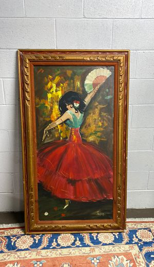 Spanish dancer oil painting for Sale in Cupertino, CA